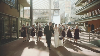 Fun Denver, Colorado wedding short film | Ellie Caulkins Opera House wedding