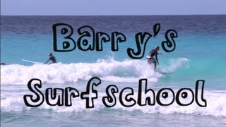 Surf School Barbados - Barry