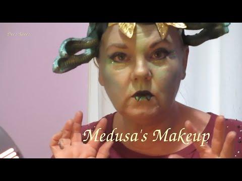 Medusa Makeup Practice ASMR