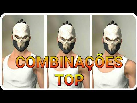 TOP 10 COMBINAÇÕES !! MÁSCARA REI CAVEIRA