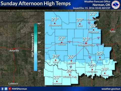 Winter Weather Update - December 15, 1200PM