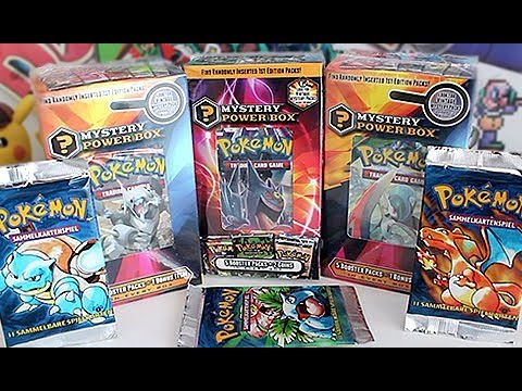 *HUGE* Pokemon Mystery Power Box Opening!!! - YouTube |Pokemon Mystery Box