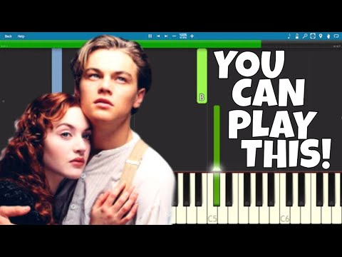 My Heart Will Go On - EASY Piano Tutorial - Titanic Soundtrack - Celine Dion thumbnail