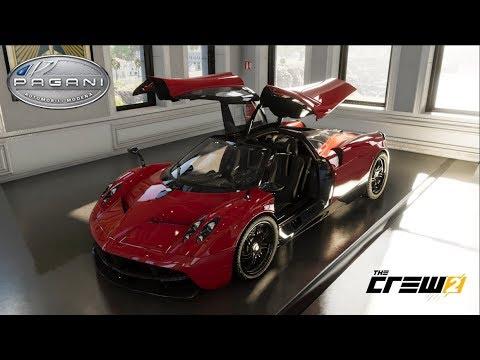 The Crew 2 - PAGANI HUAYRA - Customization, Top Speed Run, Review