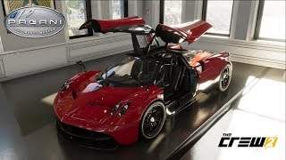 The Crew 2 - PAGANI HUAYRA - Customization, Top Speed Run, Review