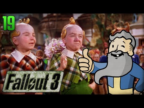"Fallout 3 Gameplay Walkthrough Part 19 - ""UNDERGROUND MUNCHKIN LAND!!!"" 1080p HD"