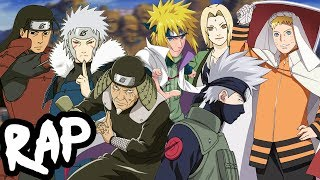 HOKAGE RAP CYPHER | RUSTAGE ft None Like Joshua, GameboyJones & More [Naruto Rap]