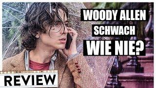 A RAINY DAY IN NEW YORK | Review & Kritik inkl. Trailer Deutsch German (HD)