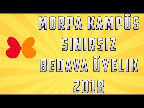 MORPA KAMPÜS BEDAVA ÜYELİK 2019 !!