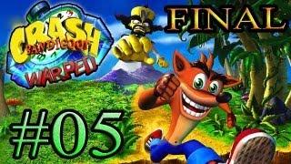 Let's Play : Crash Bandicoot Warped - Parte 5 [FINAL]