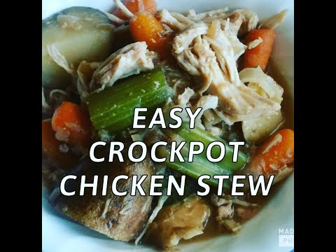 Recipe On A Budget- Crockpot Chicken Stew! 2018