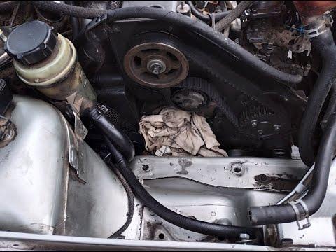 Замена помпы системы охлаждения Форд Фокус 1