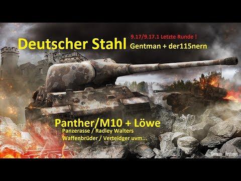 World of Tanks Gast-Replay 0183 (deutsch)  Deutscher Stahl 16 - Nuss Nougat und Schlaumeier