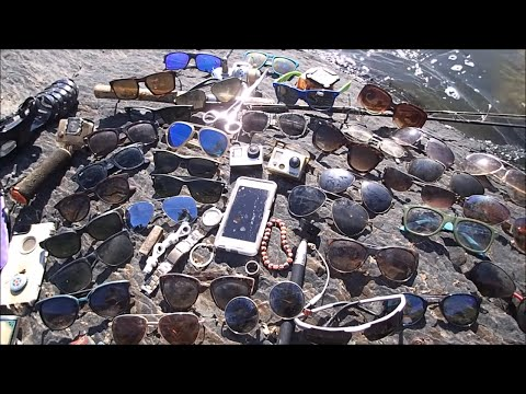 River Treasure: 2 GoPro's, iPhone, 7 Ray-Bans, Gucci and MOA