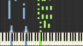 Beatles - Yesterday piano tutorial