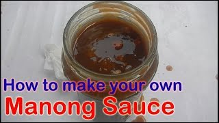 How to make Manong sauce for your Fishball