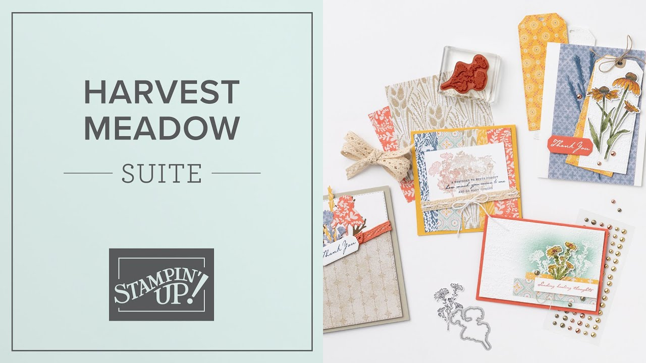Harvest Meadow Suite by Stampin' Up