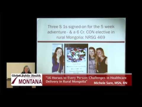 UM Global Public Health Lecture Series 2015, #4