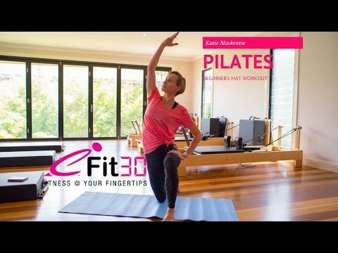 Katie Mackenzie from Re-Run: Beginners Pilates Workout #2
