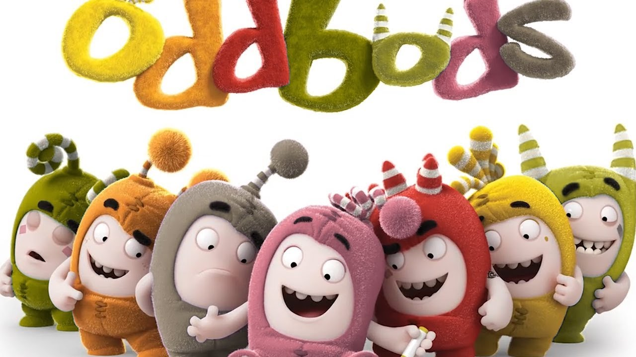 Oddbods With Learn Colors 41 New Episodes Of Oddbods