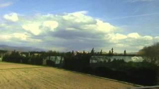 Скорость поезда TGV (Train à Grande Vitesse) во Франции