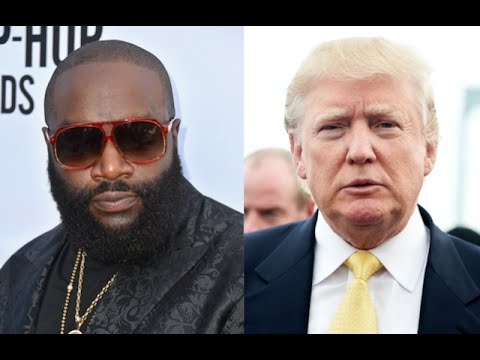 Rick Ross Gets his Album PULLED from Walmart after Rapping About Donald Trump.