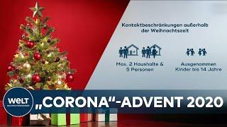 Weihnachten & silvester: die neuen corona-regeln bis januar