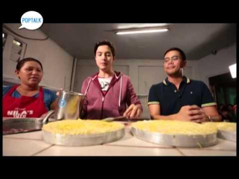 Laguna food trip with Alden Richards   Pop Talk