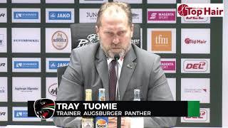 1878 TV | Pressekonferenz 20.02.2020 Augsburg - Berlin 3:5