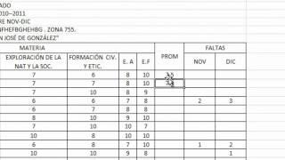 Tutorial Excel - Como Sacar El Promedio