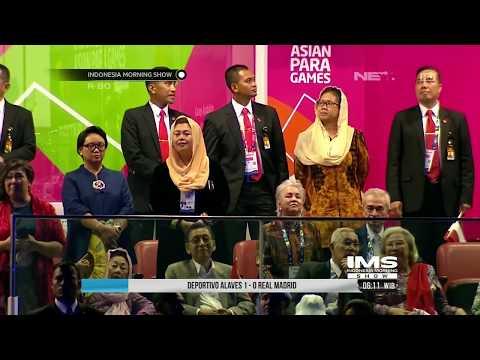 Meresmikan Asian Para Games 2018, Presiden Jokowi Memanah Bersama Bulan - IMS