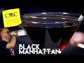 🏴 Black Manhattan 🖤 Easy Bourbon Drink with Averna Amaro