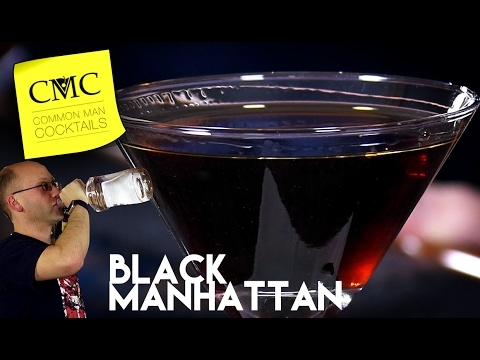 Black Manhattan  Easy Bourbon Drink with Averna Amaro  YouTube