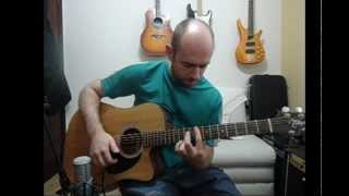 Pink Panther Theme - Acoustic Guitar Solo (Violão Fingerstyle)