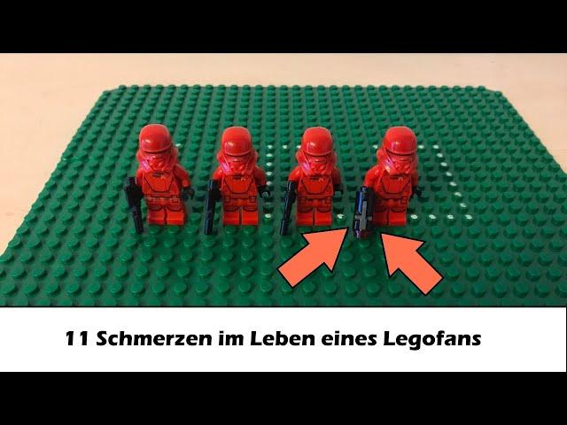11 Schmerzhafte Momente im Leben eines Legofans /150 Abonnenten Special