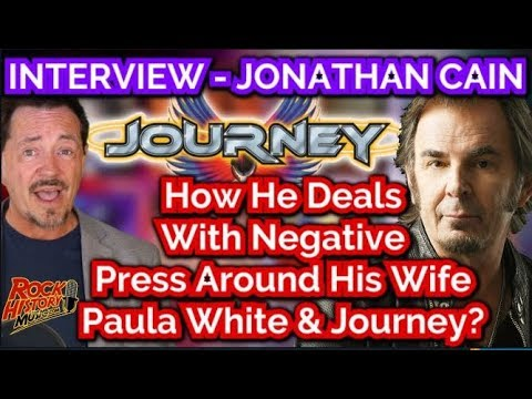 INTERVIEW - How Journey's Jonathan Cain Deals With Negative Press