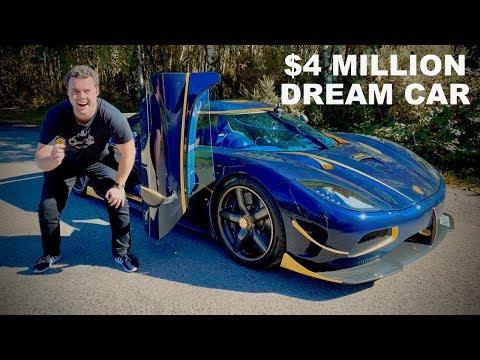 DRIVING MY $4 MILLION DOLLAR DREAM CAR!! *KOENIGSEGG AGERA RS*