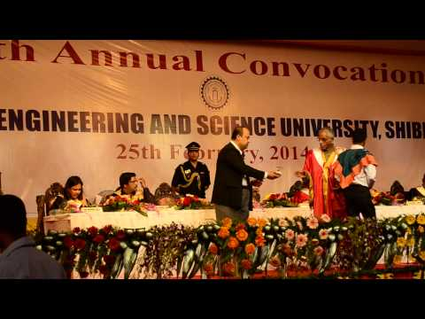 16th Annual Convocation of Bengal Engineering & Science University, Shibpur, 2014 - Part 7