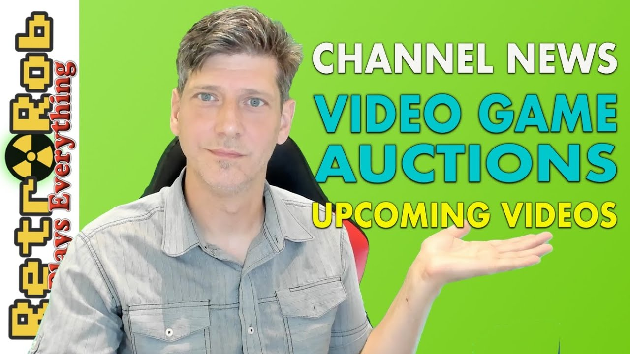 Channel News and Upcoming Videogame Auctions!