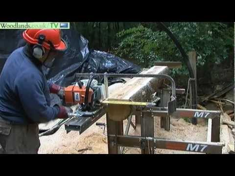 kettens ge kleins gewerk chainsaw mill doovi. Black Bedroom Furniture Sets. Home Design Ideas