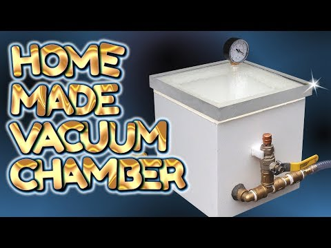home made SIMPLE BUILD vacuum chamber - by VOG (VegOilGuy)