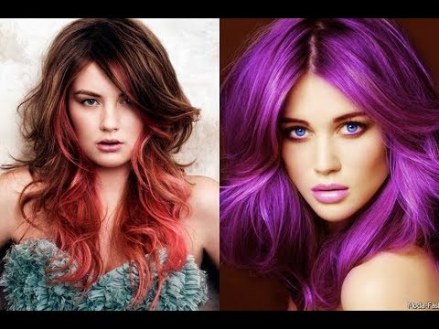 Girls Hair Color Highlights New Trending Hairstyles 2017 Youtube