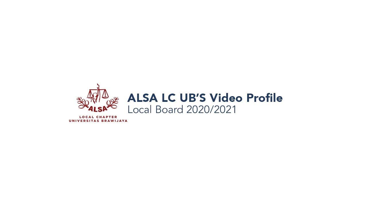 ALSA LC UB: Video Profile 2020/2021