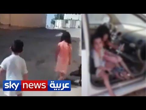موجة غضب في السعودية عقب انتشار فيديو لطفلين احتجزا في سيارة لوقت طويل   منصات