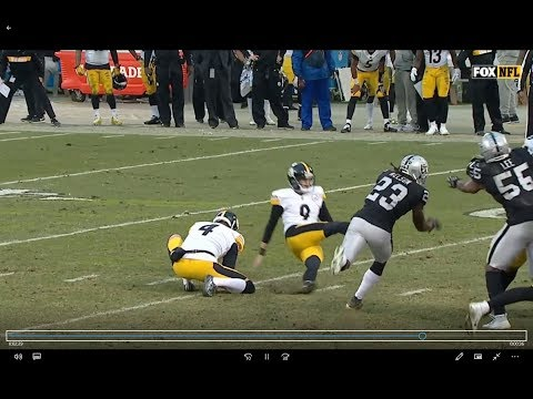 WHY BOSWELL SUCKS | 2018 Steelers Missed FG Compilation (as Of Week 14)