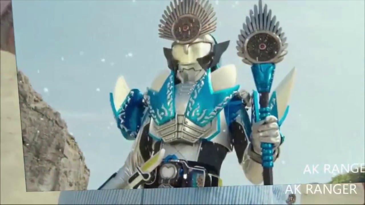 All henshin kamen rider Gaim - Kamen rider x Super sentai