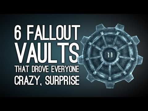 6 Fallout Vaults That Drove Everyone Super Crazy, Surprise