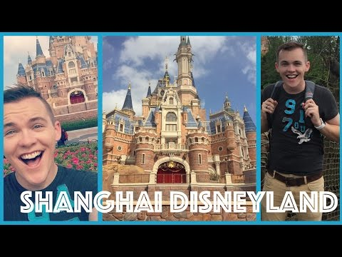 AN AMERICAN IN SHANGHAI DISNEYLAND | Adv. in China - Ep. 3