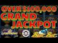 GRAND JACKPOT ON HIGH LIMIT Lighting Link Best Bet MASSIVE HANDPAY OVER $100,000 Slot Machine Casino