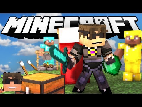 Minecraft BED WARS! | PROTECT YOUR BED! (Minecraft Bed Wars Minigame)